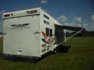 2006 Weekend Warrior Travel Trailer Toy Hauler Billet Edition Onan Super Nice