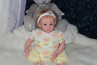Sweet Pea Babies Reborn Doll New Release Baby Girl Elsie by Marissa May