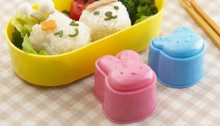 3 Pcs Cat Bear Rabbit Shape Sushi Rice Roll Mold Mould Kitchen Tool Bento Cute
