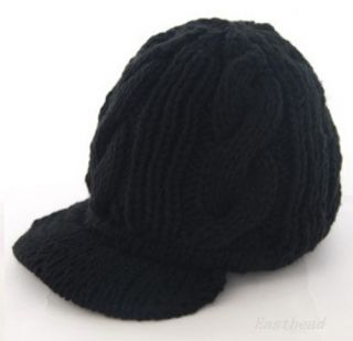 Hot Warm Wool Peaked Hat Cap Fashion Korean Women Girl Crochet Knit Ski Beanie