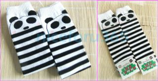 Cute Cartoon Panda Leggings Leg Warmers Socks Children