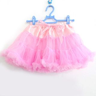 Baby Kid Girl Toddler Dance Ballet Tutu Pettiskirt Dress Princess Skirt 4 12year