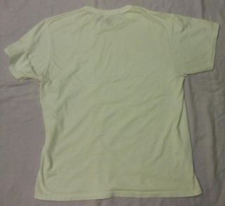Fruit of the Loom Mens Solid White T Shirt Undershirt New but Washed Size L