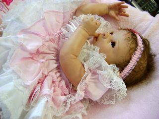 Beautiful Reborn Baby Doll Krista by Linda Murray Retired Sold Out Sculpt