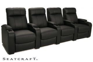 Seatcraft 5131 4 Seats Home Theater Seating Chairs