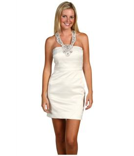 Laundry by Shelli Segal Satin Necklace Dress $111.99 (  MSRP $