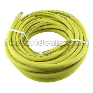 "Top Quality 3 8"" x 50 ft Goodyear Air Compressor Hose Oil Resistant Made in USA"