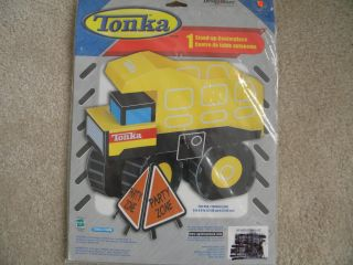 Tonka Truck Birthday Party Centerpiece