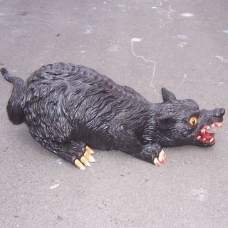"Giant 26"" Scary Rat Halloween Prop Big Large Jumbo Evil"