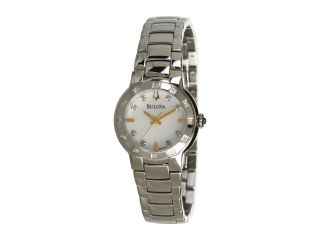 Bulova Ladies Diamond 96r173 White