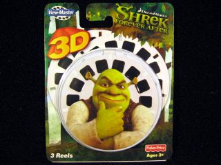 3 Fisher Price View Master Reels Shrek Forever After Viewmaster Dreamworks