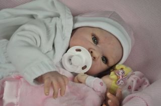 Reborn Baby Girl Eden New Doll Kit by Adrie Stoete