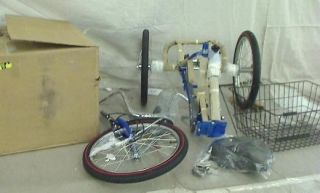 Worksman Port O Trike Three Speed Adult Tricycle