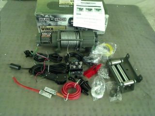 5000lb Electric ATV UTV Winch with Auto Load Holding