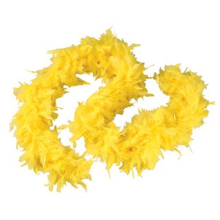 20's Feather Boa Baby Pink Green Purple Yellow Flapper Fancy Dress Accessory
