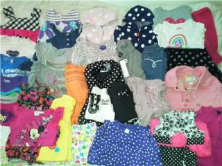 Baby Girl Lot Clothes Calvin Klein 12 18 Months 24 2T Outfits Carters Dress Tops