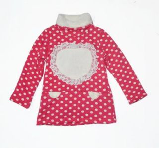 Girls Kids Winter Warm Dress Top T Shirt Long Sleeve Clothes Cute Clothing S1 5Y