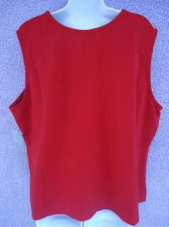 Analogy Woman Tank Top Shirt Size 1x 2X 3X