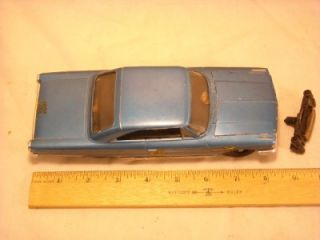 "Vintage AMT ""Authentic Model Turnpike"" TR 190 1963 Ford Galaxy Slot Car"