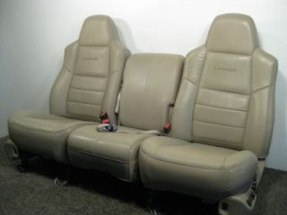 Ford Super Duty F250 F350 Heated Leather Seats 2002 2003 2004 2005 2006 2007