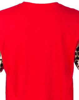 Coke Boys Animal Print Tee