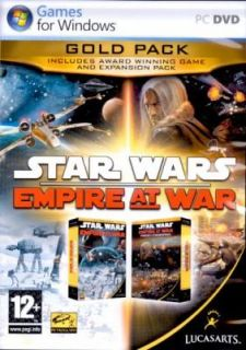 Star Wars Empire at War Gold Pack for PC XP Vista New 0023272005276