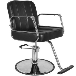 New Black Beauty Salon Equipment Hydrualic Barber Styling Chair SC 94BLK