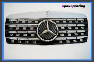 84 93 Mercedes Benz W201 190D 190E Black Front Center Grille Grill