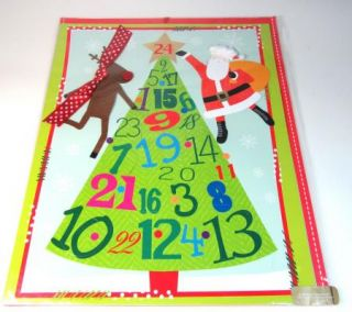 NIP Pier 1 Imports Mailable Countdown to Christmas Advent Calendar