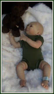♥ Irelyn Now Spud Denise Pratt Reborn Fake Baby Boy Doll ♥