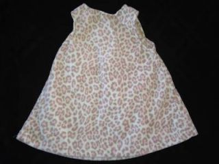 Baby Girl Clothes Carter's Pink Leopard Pring Baby Girl Dress 6 Months