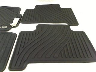Genuine Toyota Accessories Front and Rear All Weather Floor Mat Set of 4
