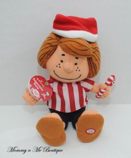 Hallmark Peanuts Talking Peppermint Patty Plush Toy