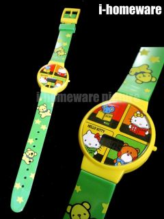 Hello Kitty Sanrio License Party Gift Supply Digital LCD Watch Wristwatch Series