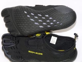 New Body Glove 3T Barefoot Max Hybrid Water Hiking Running Shoes Black Sz 9