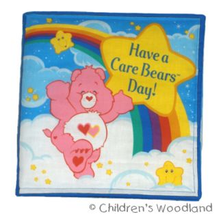 Care Bears Cloth Soft Book Kids Baby Toddler New