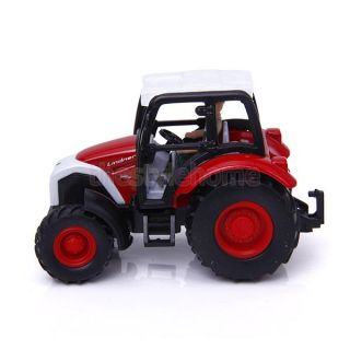 Cool Cute 1 43 Red Farm Tractor Creative Props Model Birthday Party Favor Toys