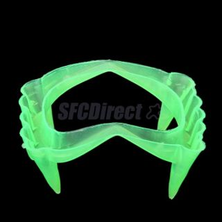 Scary Halloween Party Prop Plastic Luminous Light Vampire Teeth Joke Gag Toy New