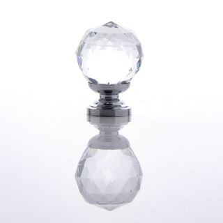 New Handle Clear Crystal Glass Drawer Cabinet Knob