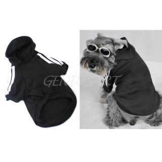 Cute s M L Pet Dog Cat Clothes Warm Coat Apparel Hoodies Sweater Apparel T Shirt