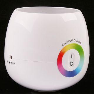 Stylish Portable Electric Changing Colors Colorful Magic LED Touch Night Light