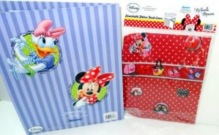 Disney Minnie Mouse Daisy Duck School Supplies Pocket Folder Stretch Book Cover