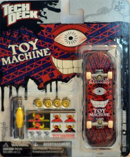 Tech Deck Flip 96 mm Toy Machine Finger Board Skateboard Joshua Harmony