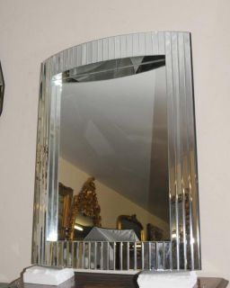 Art Deco Pier Mirror Glass Hall Mirrors