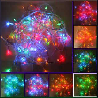 New Multi Color 10M 100LED Christmas Fairy Party String Lights Wedding Decor