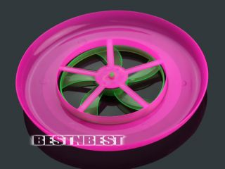 New Hot Colorful Spin LED Light Outdoor Toy Flying Saucer Disc Frisbee UFO Kids
