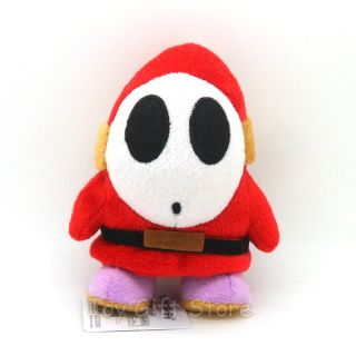 New Super Mario Bros Plush Doll Stuffed Toy Shy Guy 6""