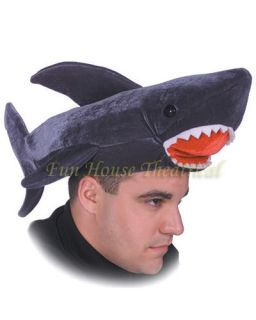 Jaws Killer Shark Hat Halloween Costume Accessory 1584