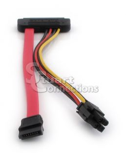 New Dell SATA Hard Drive 4 Pin ATX Power and Data Cable