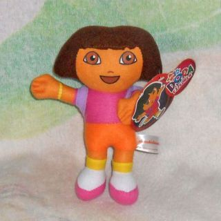 Dora The Explorer Dora Swiper Fox Plush Doll Toy 8""